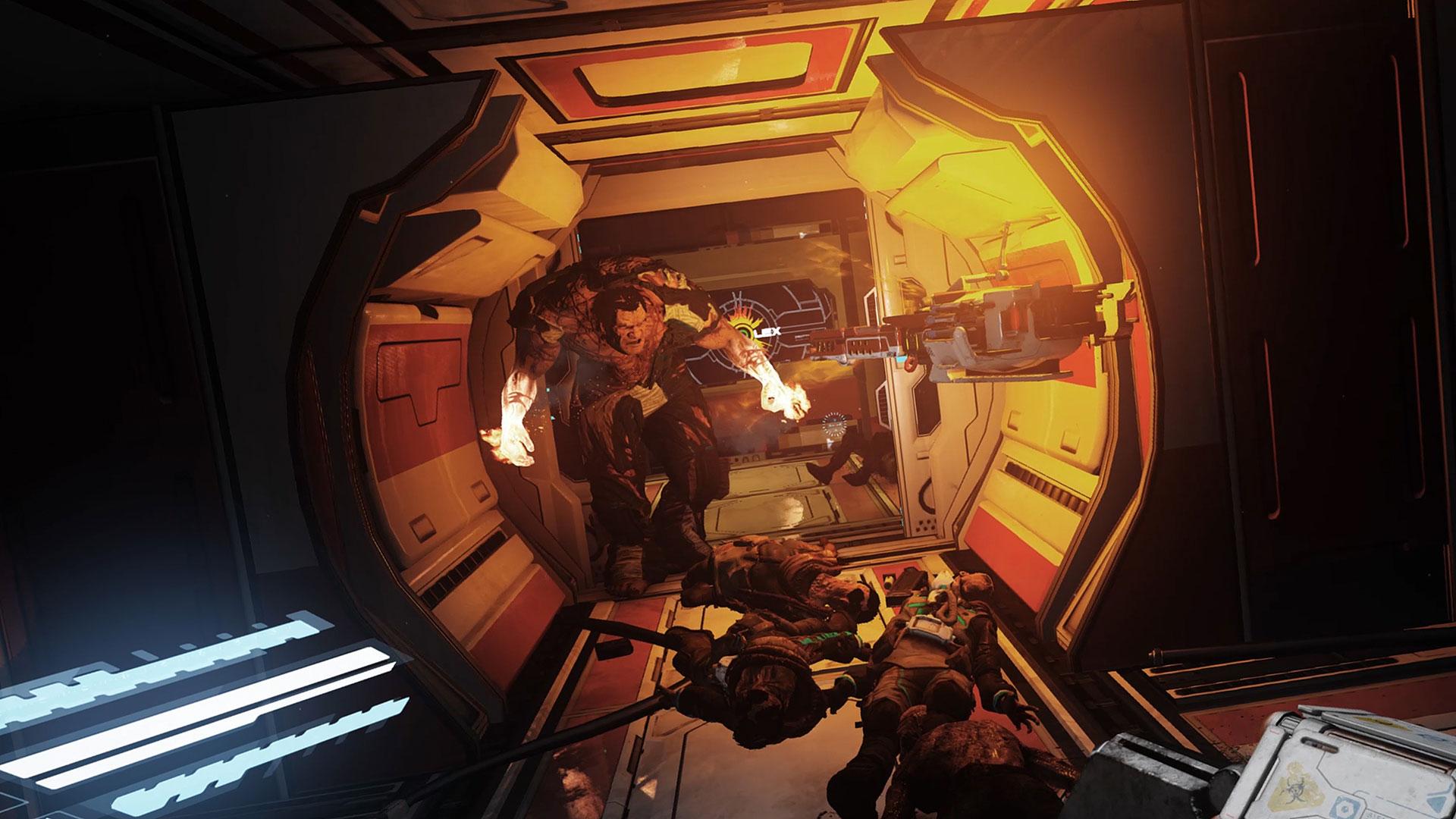 """Spektakuläre Games wie """"The Persistence"""" beamen den Kunden mithilfe von """"PlayStation VR"""" direkt ins Spiel, stellen aber selbst den Magen von Headset-Profis auf eine harte Probe."""