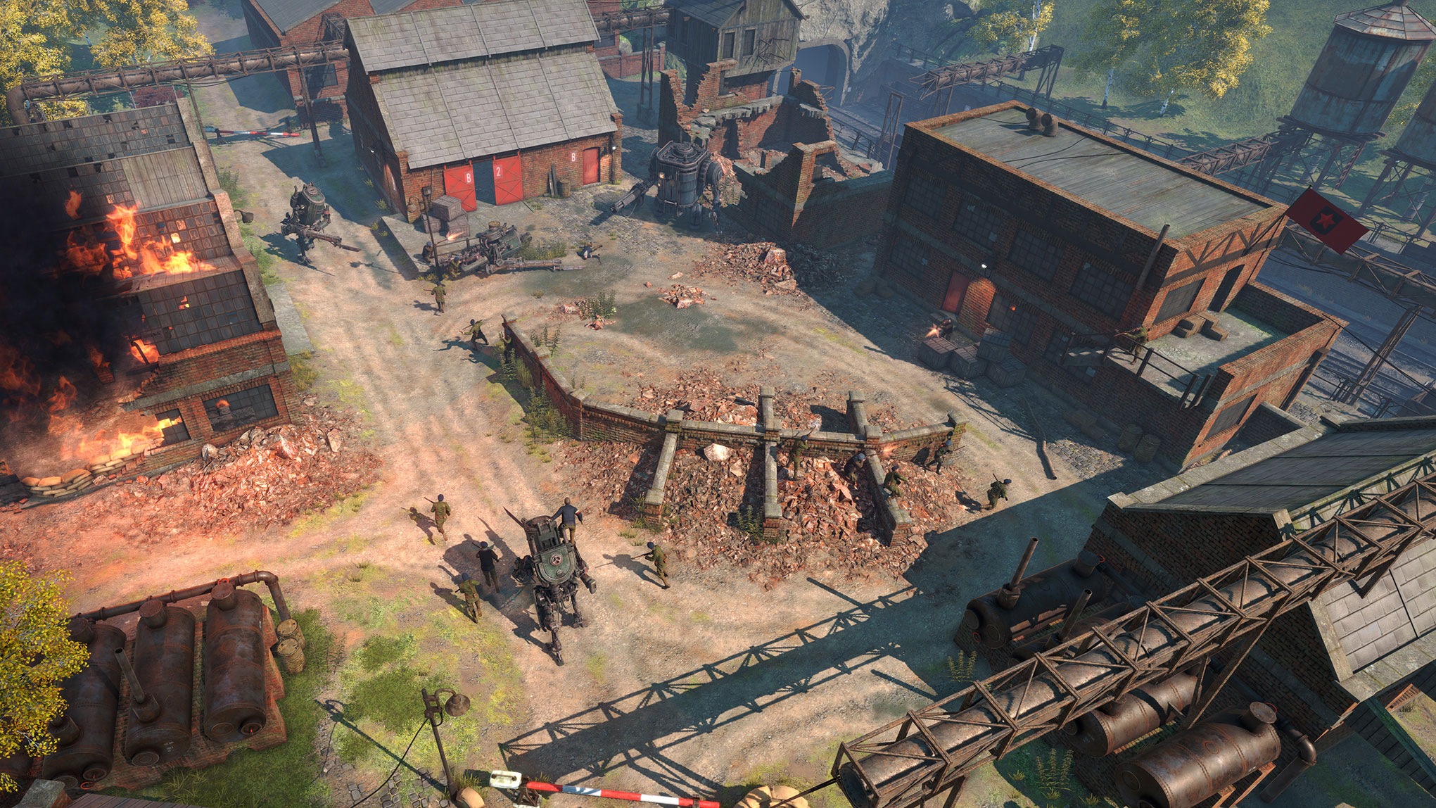 Jetzt stapfen die Stahl-Bestien über 3D-Schlachtfelder, wo sie gegen die Vertreter von zwei anderen Fraktionen antreten. Dabei setzt King Arts' Spiel vor allem auf Singleplayer- der Multiplayer-Modus ist optional und zählt zu den zahlreichen...