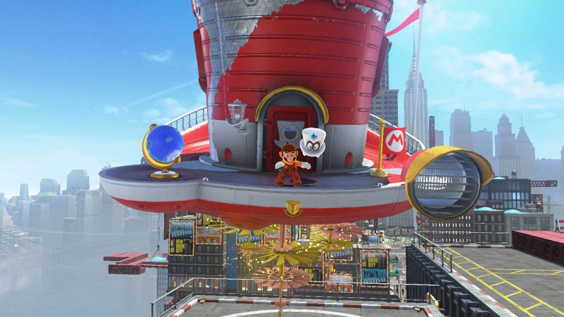 """Hat einen Preis für das """"beste Sound-Design"""" ergattert: """"Super Mario Odyssey""""."""