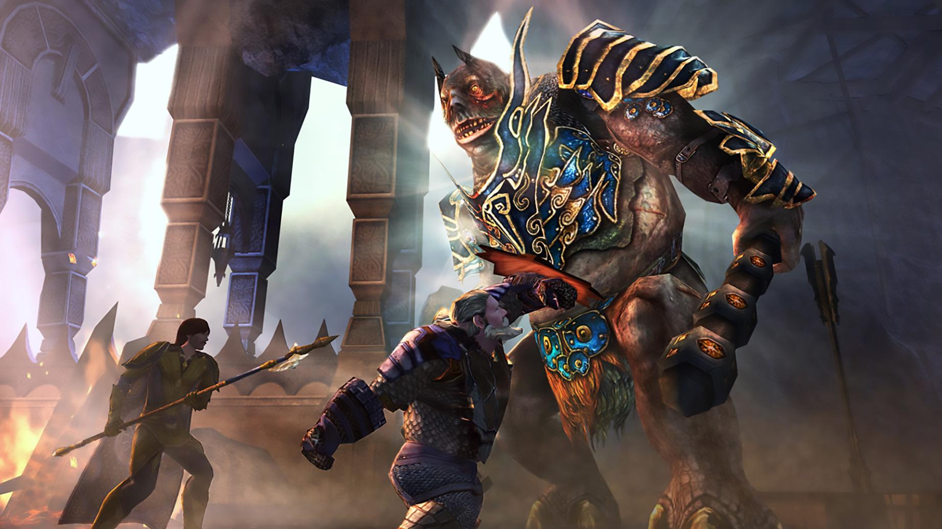 """Turbines """"Der Herr der Ringe Online"""" leidet seit Jahren unter drastischem Spieler-Schwund. Vielleicht deshalb rechnen sich Leyou und Athlon Games gute Chancen für ein neues Mittelerde-MMORPG aus."""