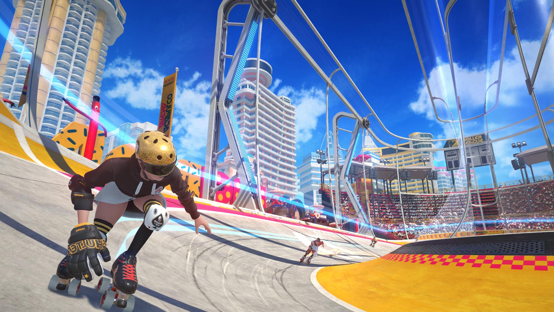 """Ab auf die Rollschuhbahn: """"Roller Champions"""" wurde vorerst exklusiv für PC angekündigt."""