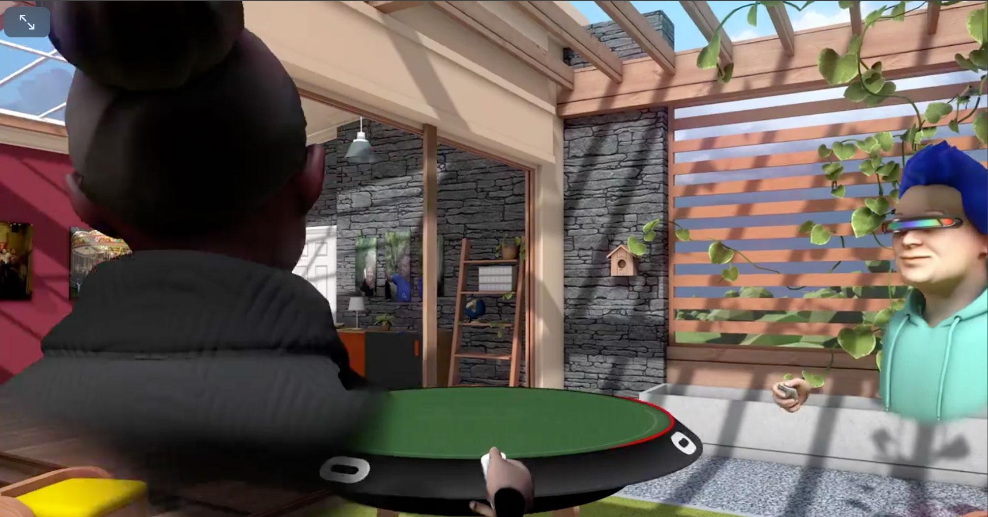 """Virtuelle Chat- und Social-Media-Lounge: """"Oculus Rooms"""" gehört zu den speziell für die """"Go"""" optimierten Anwendungen. Ebenso wie..."""