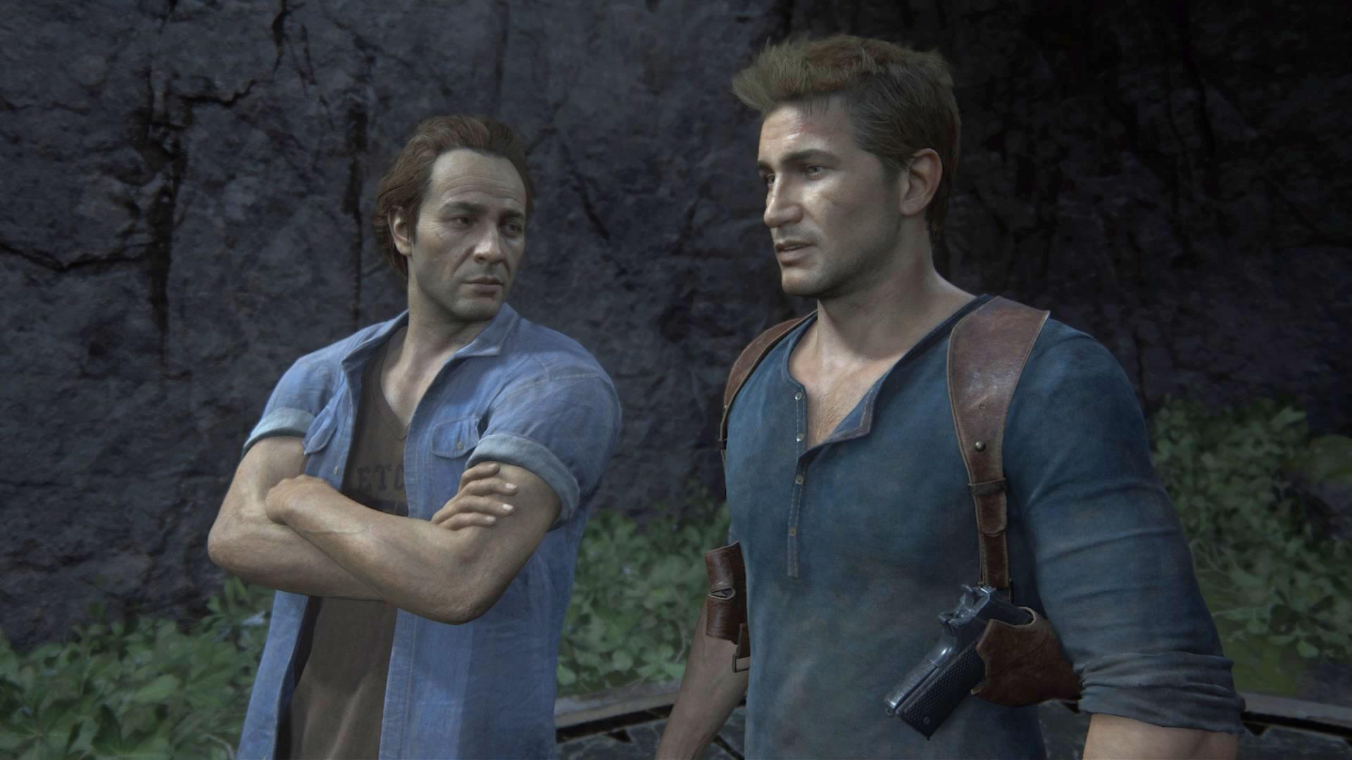... wirkt der Darsteller tatsächlich wie eine etwas ältere Version des Spiele-Helden.