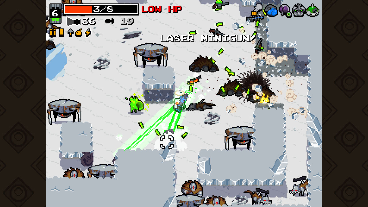 "Retro-inspirierte Rabauken-Action mit Perma-Death: Vlambeers ""Nuclear Throne"""