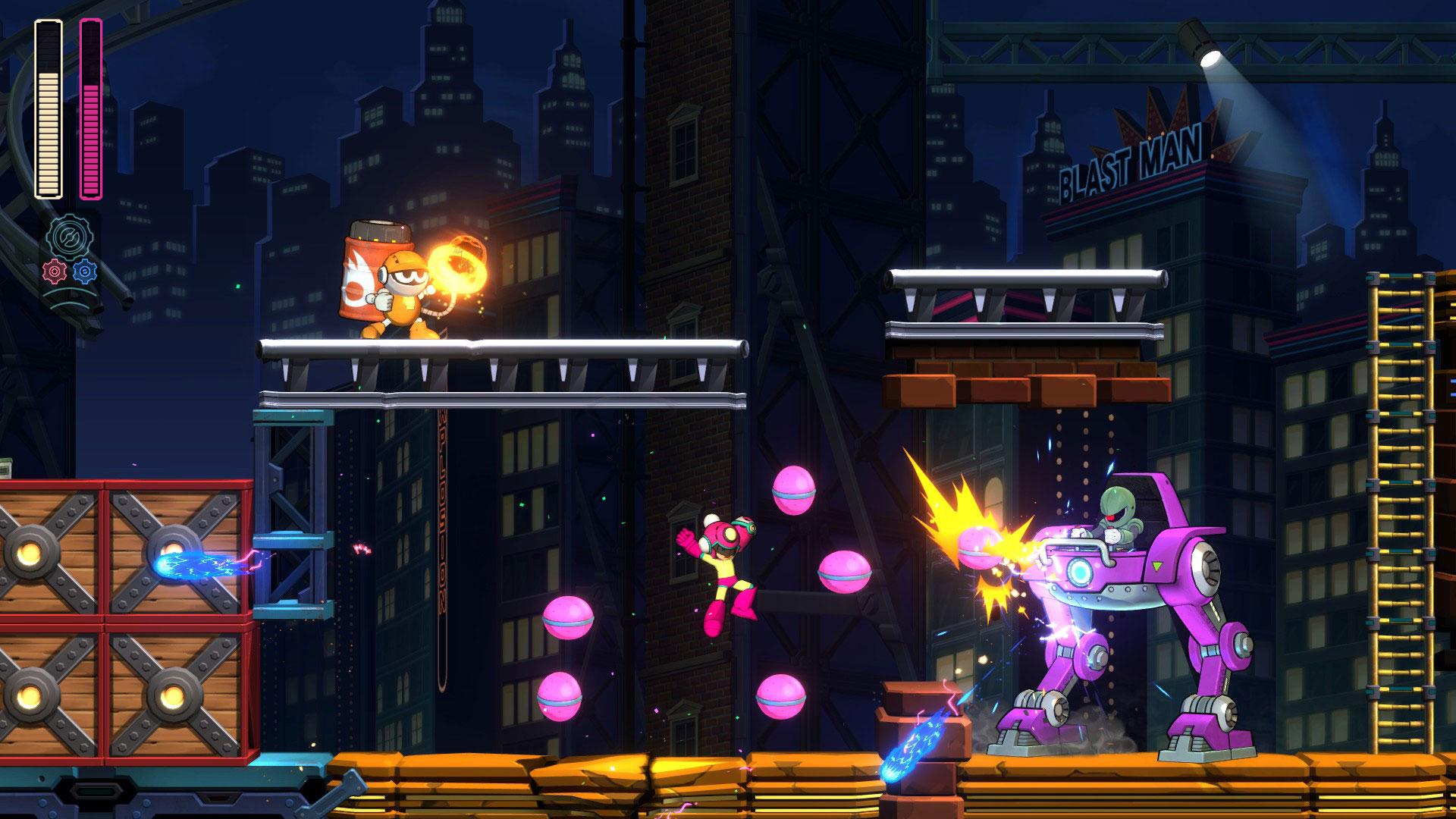 """Perfekt geeignet für den Handheld-Modus der Switch: Capcoms """"Mega Man 11""""."""