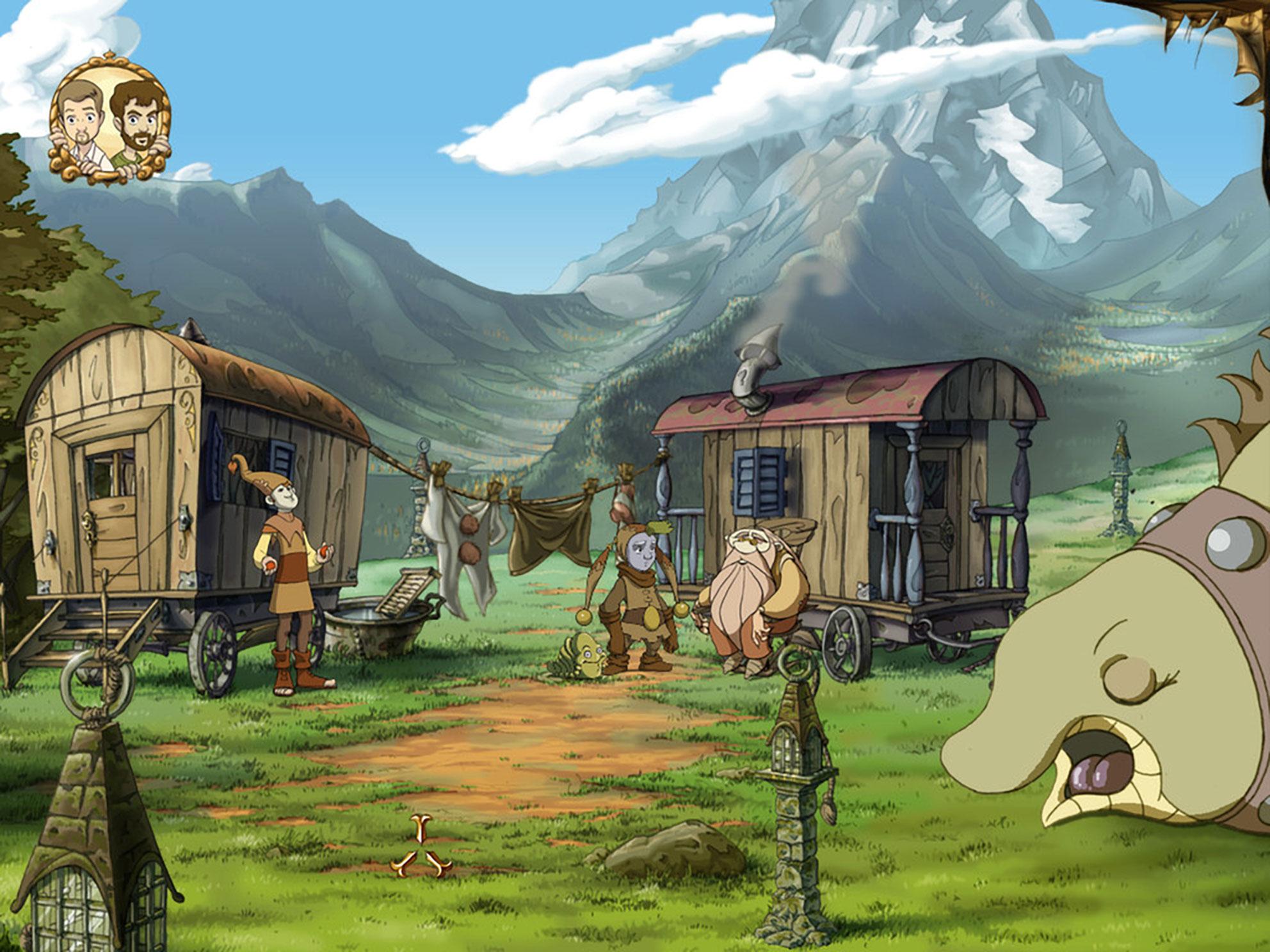 """Mit """"Whispered World"""" setzt Daedalic 2009 erneut Adventure-Maßstäbe. Chef-Entwickler ist diesmal der Zeichen-Künstler Marco Hüllen, Kollege Poki steuert zahlreiche Texte bei."""
