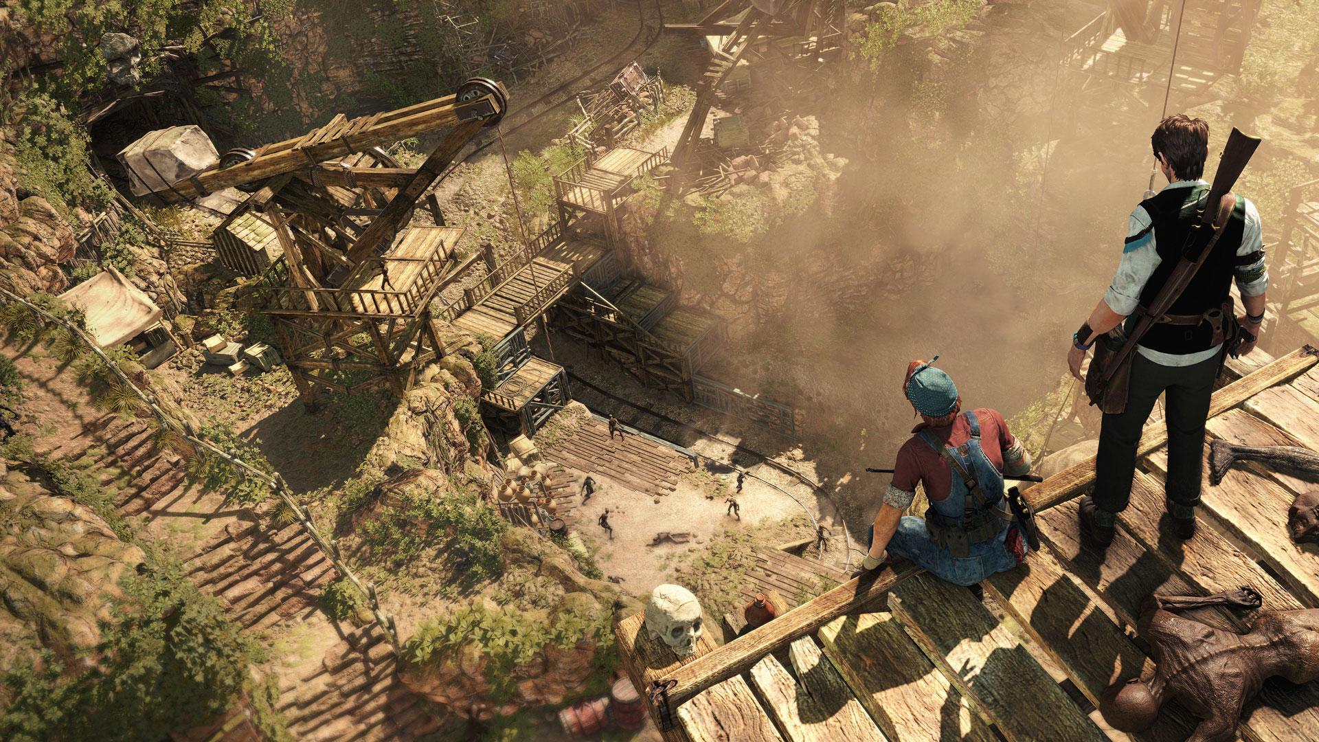 Die Level-Labyrinthe sind riesengroß und verzweigen sich oft über mehrere Ebenen. Um die Portale zwischen den einzelnen Gebieten zu öffnen, müssen die Helden Rätsel knacken und Schalter finden.