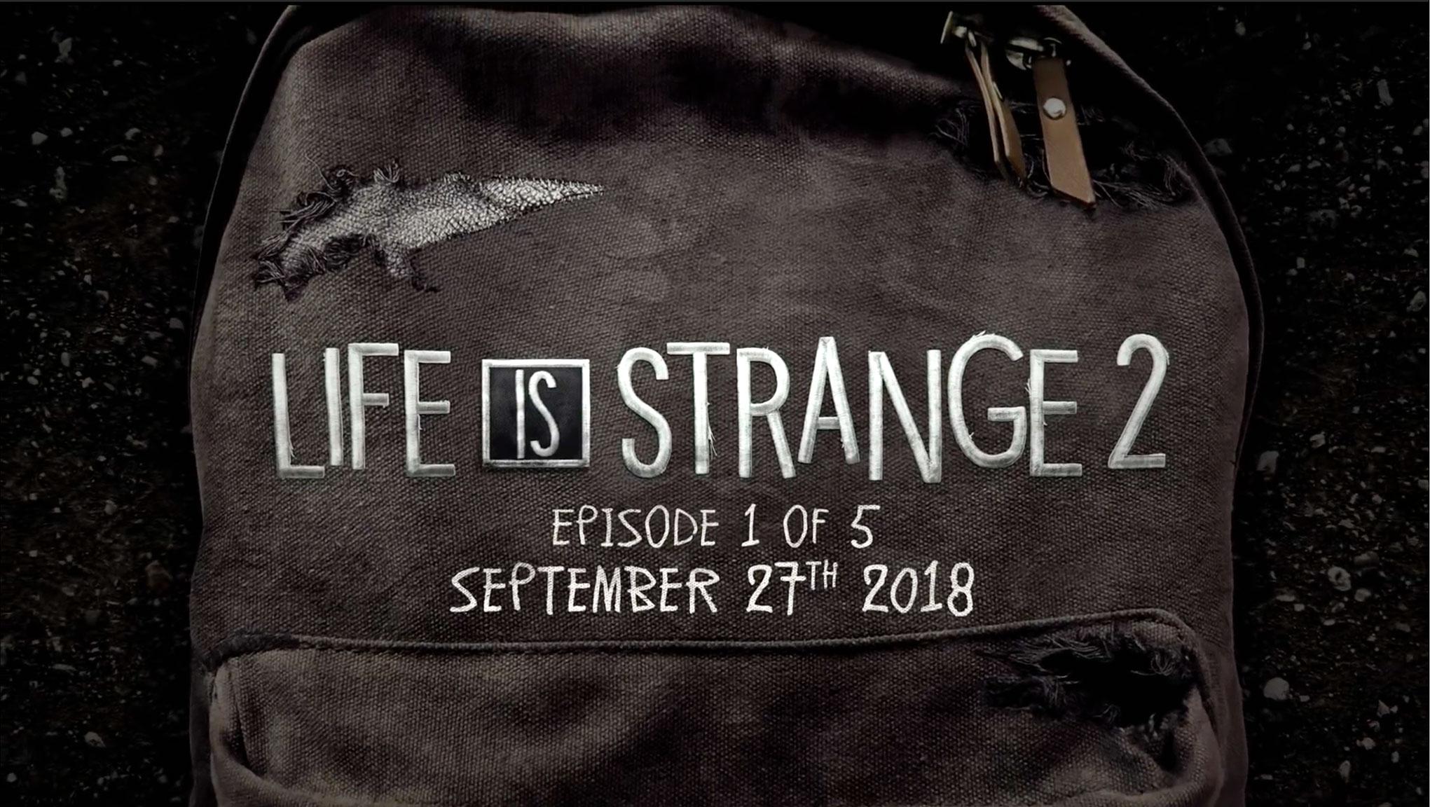 """Multiple-Choice-Dialoge, große Gefühle und ein Hauch von Mystery: Mit """"Life is Strange 2"""" setzt Dontnod am 27. September seinen Erfolg von 2015 fort."""