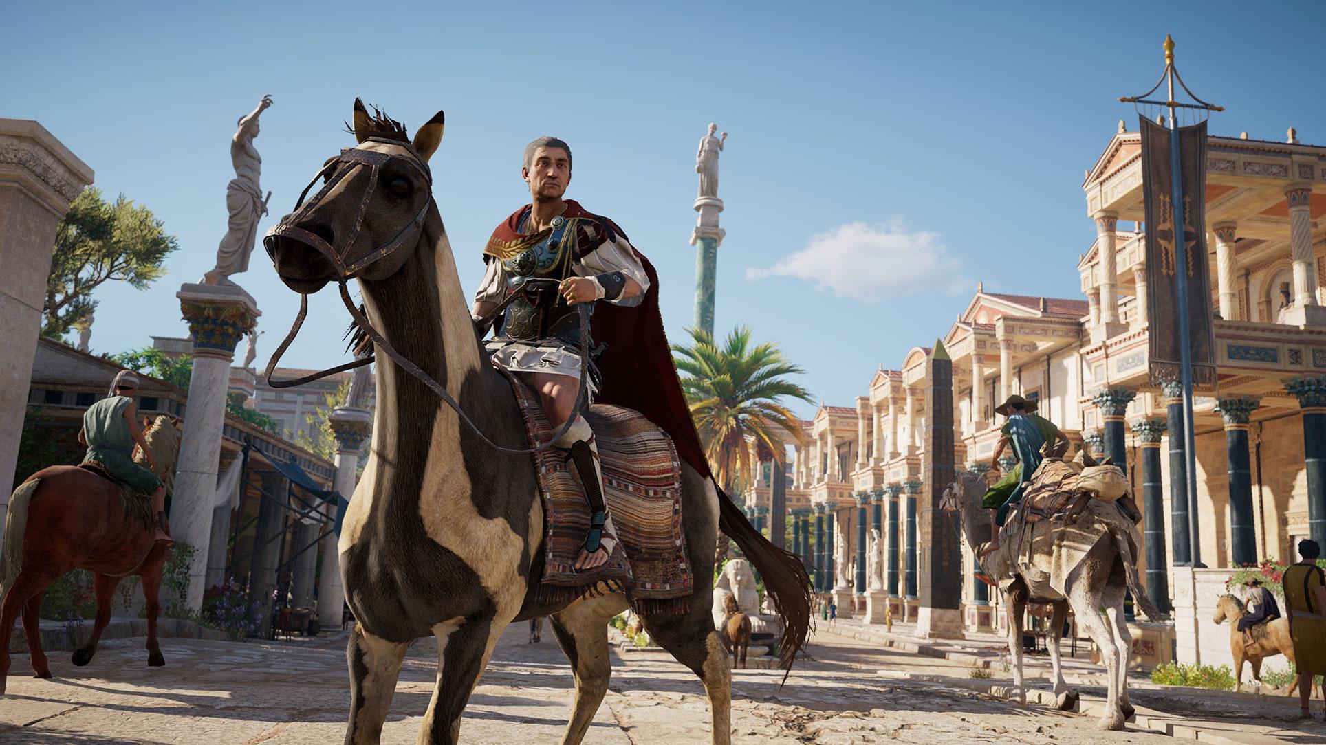 ... oder den römischen Kaiser Julius Cäsar übernehmen.