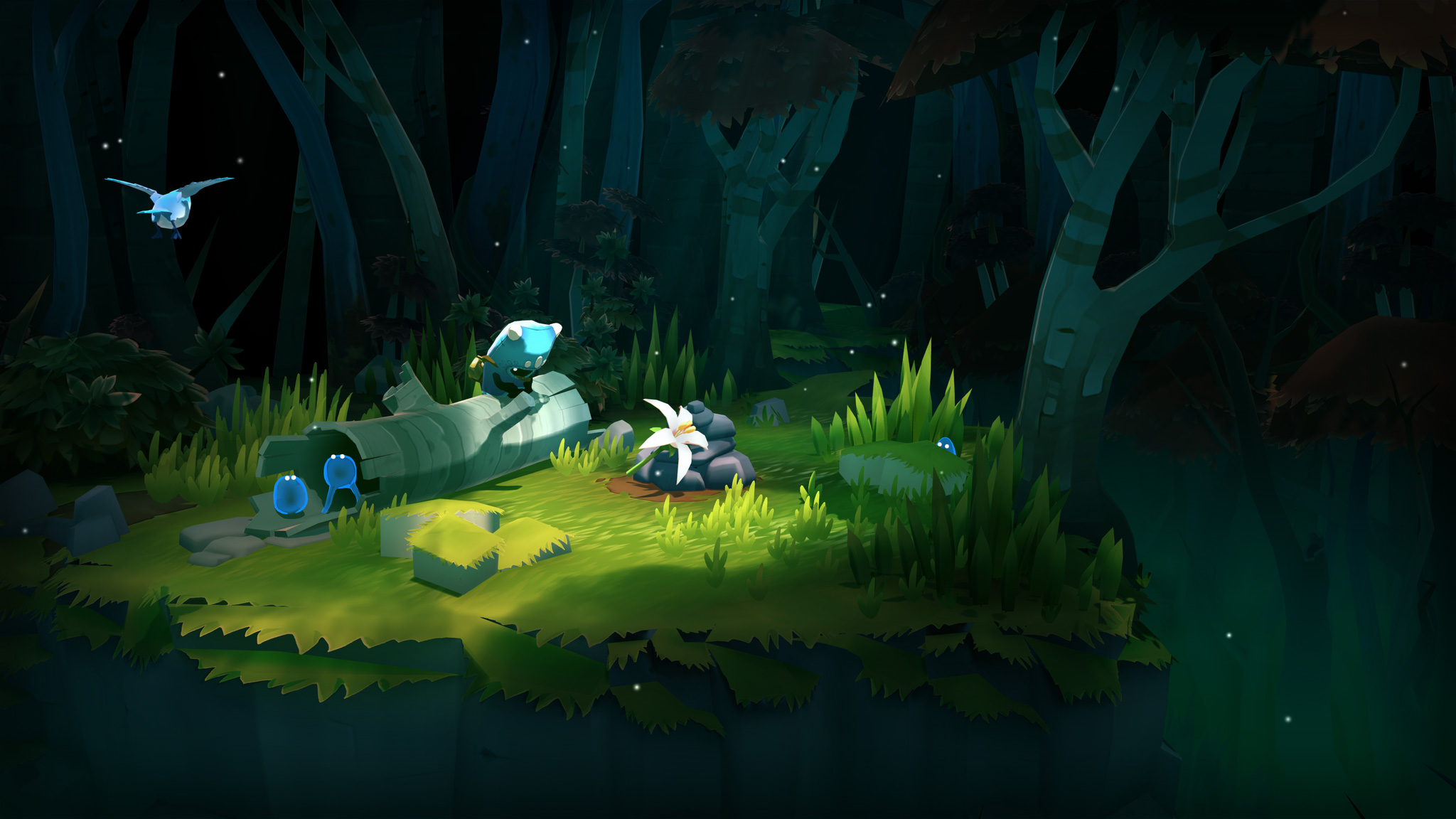 """Eher niedlich als unendlich: """"The Last Campfire"""" ist das neue Spiel von """"No Man's Sky""""-Macher Hello Games."""