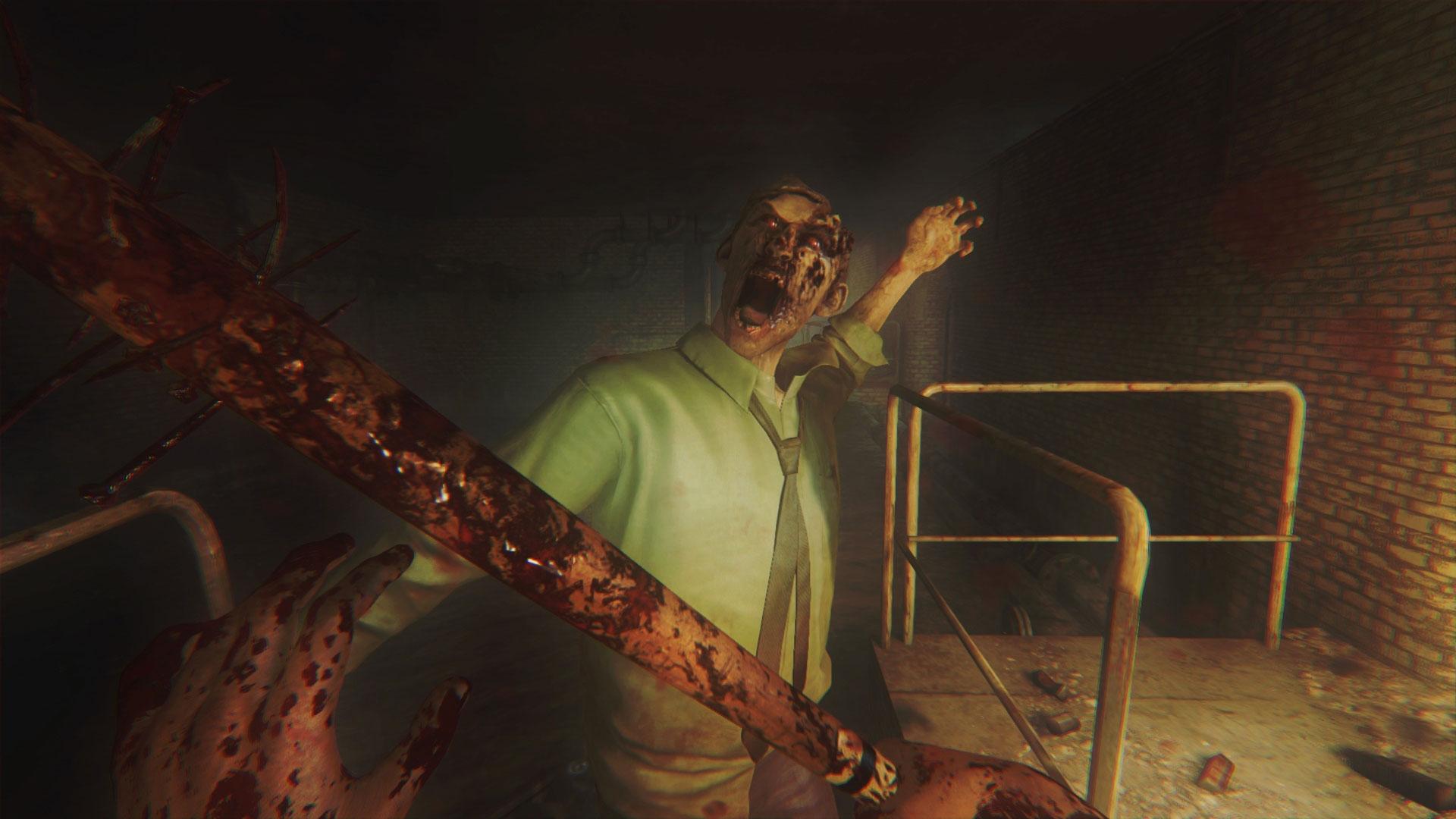 """Mit Brechstange und Bleipuste durch die britische Zombie-Apokalypse: Knallharte Survival-Kost gibt's in """"Zombi"""" - vom 16. Januar bis zum 15. Februar."""