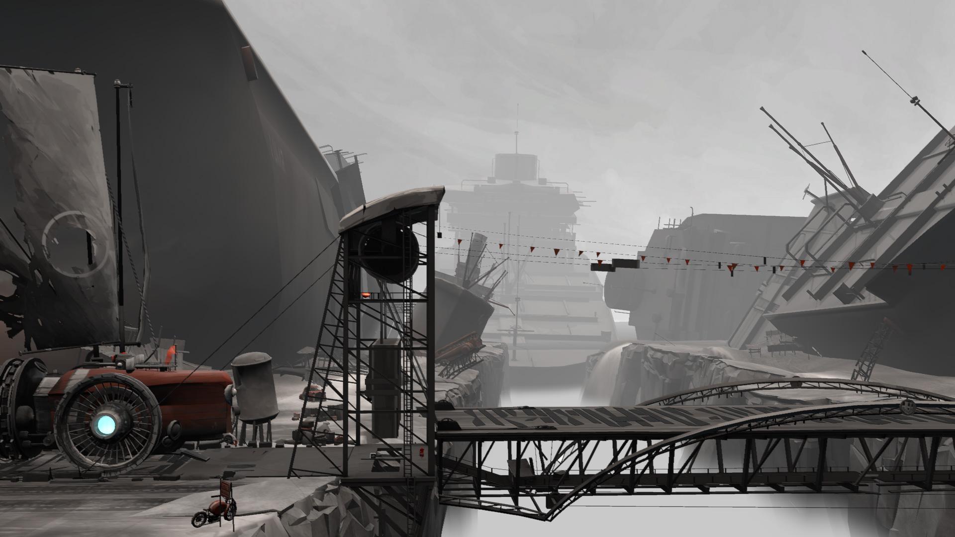"""""""FAR: Lone Sails"""" vom schweizer Entwickler """"Okomotive"""" wurde bestes Spiel und hat außerdem einen Preis für das stärkste Game-Design bekommen."""