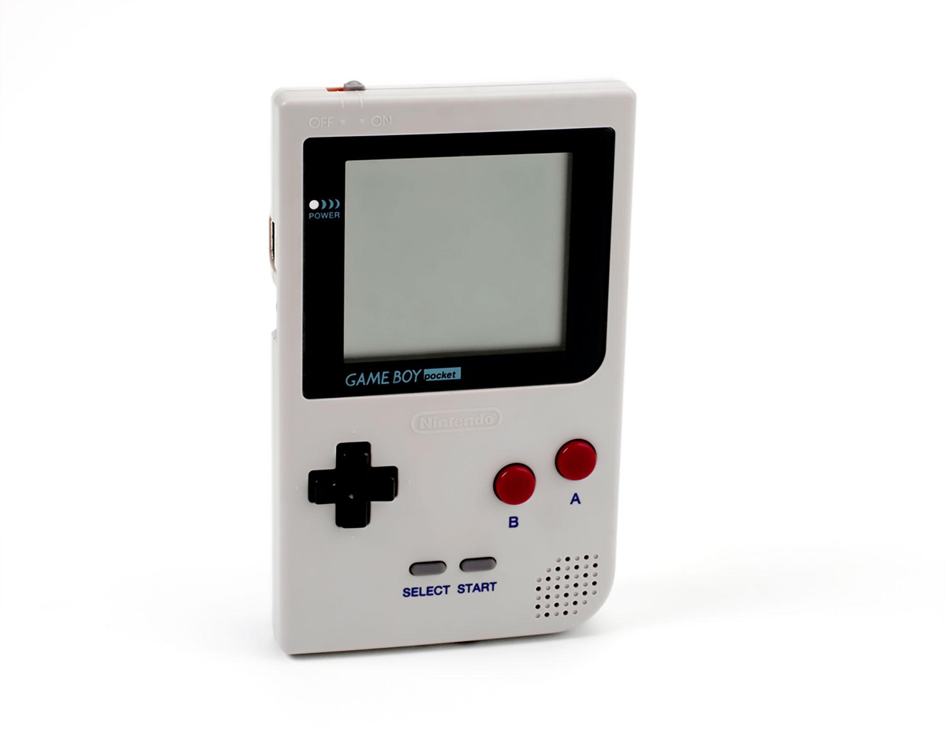 Das handlichere Pocket-Modell ist die erste von mehreren Game-Boy-Variationen.