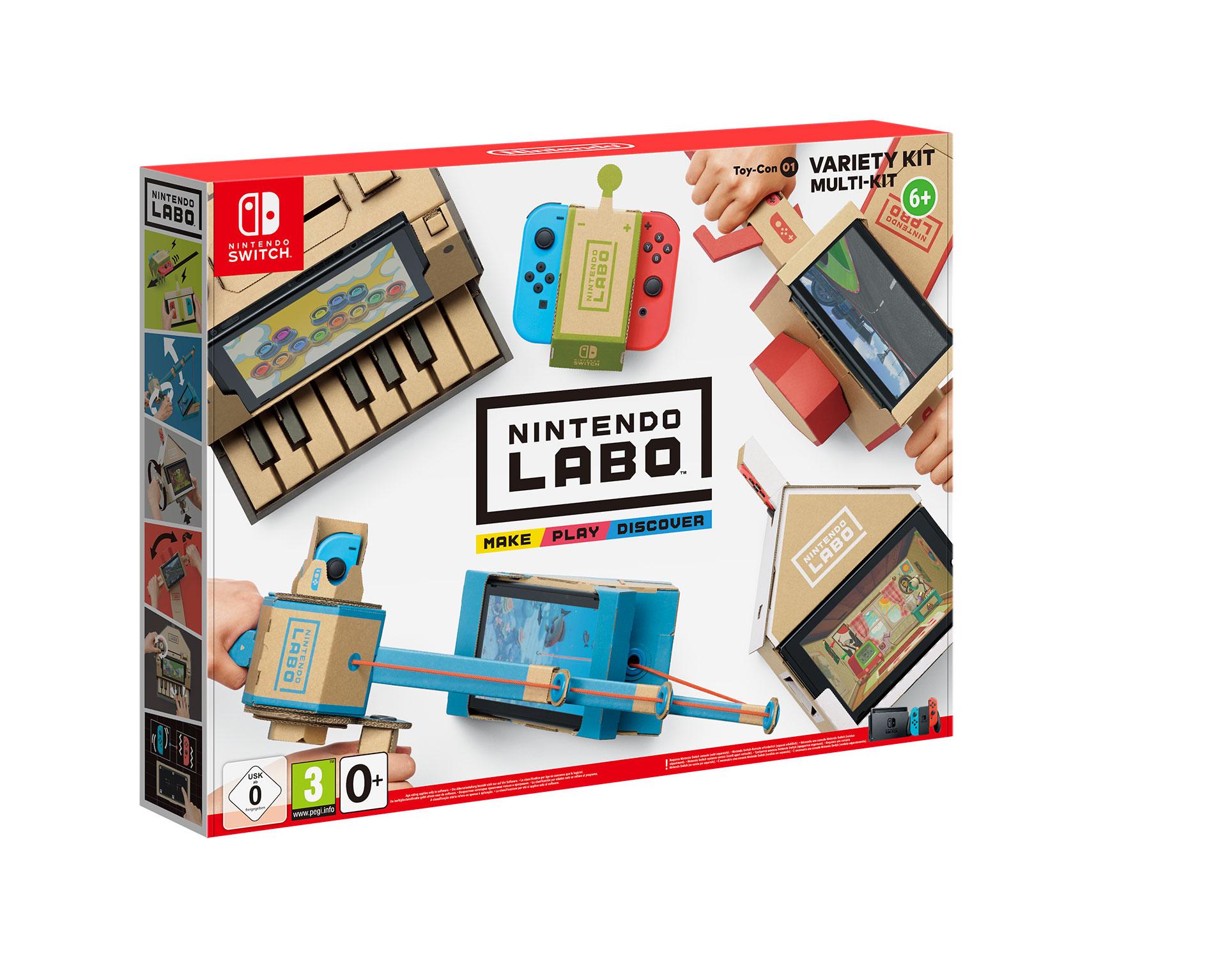 """Angeln, Häusle bauen, Klavier spielen und mehr: Das """"Multi""""-Set ist eine Fundgrube aus kreativen Mini-Games."""