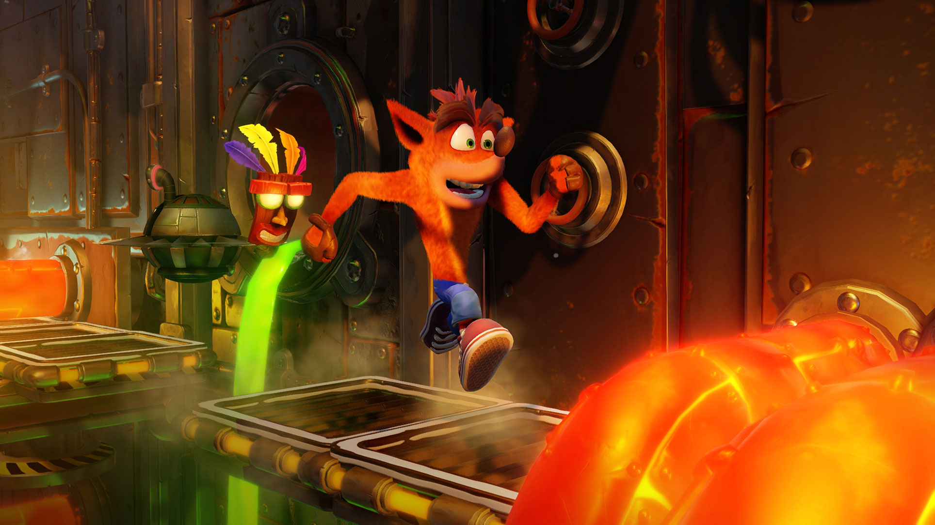 "Feiert bald sein Switch-Debüt: die ""Crash Bandicoot N. Sane Trilogy""."