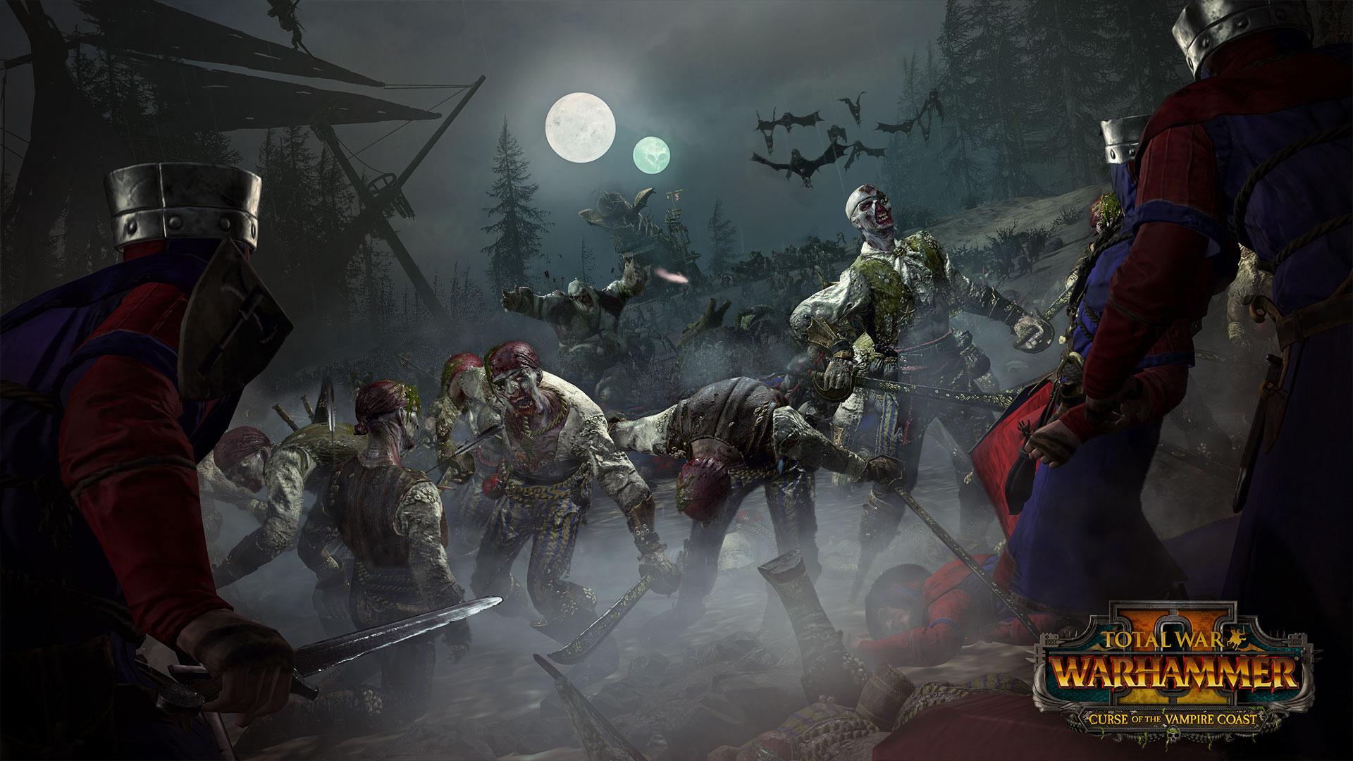 Sind genauso fies wie sie aussehen: Zombie-Piraten.