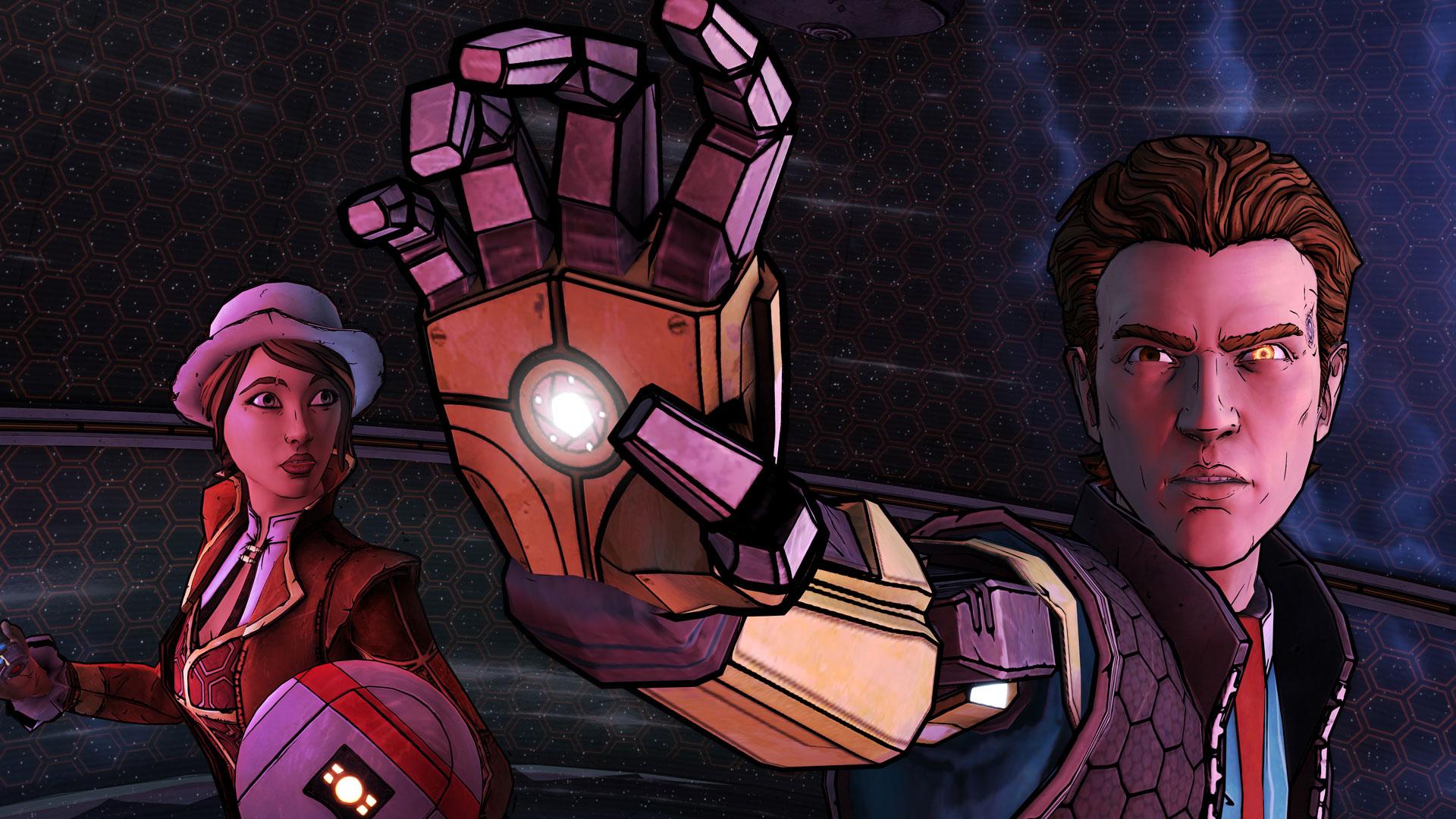 """Ungewöhnlich: Mit """"Tales from the Borderlands"""" verwandelte man die bekannten Ego-Shooter-Rollenspiele von Gearbox Software in Adventures."""