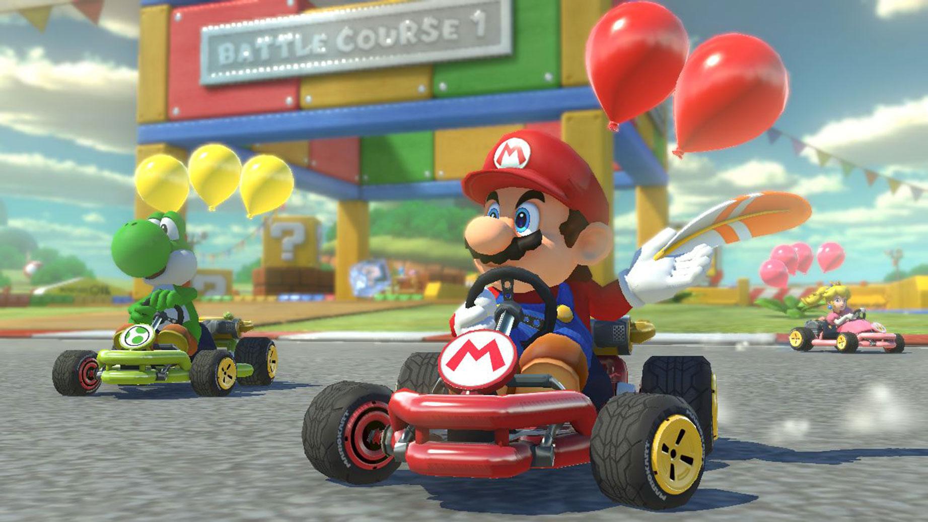 """Konnte sich als """"bestes Rennspiel"""" platzieren: """"Mario Kart 8 Deluxe""""."""