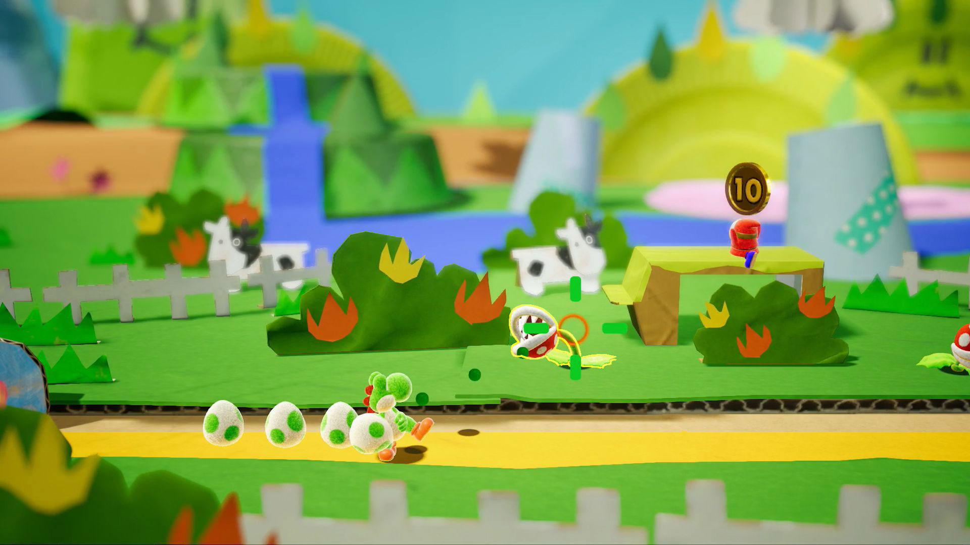 Wurde im Rahmen der E3 mit keiner Silbe erwähnt: Yoshis erstes Switch-Abenteuer.