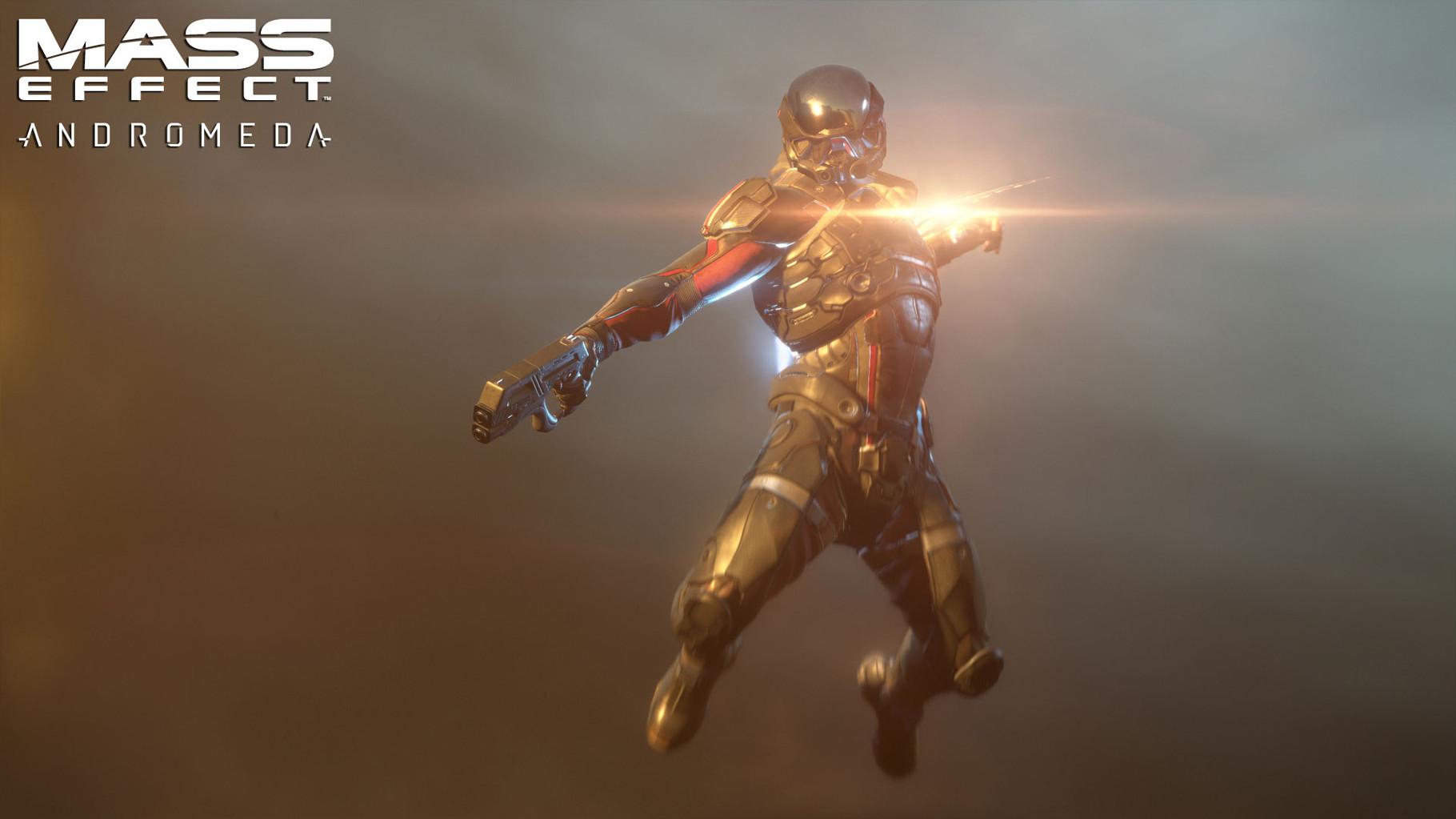 """Mass Effect Andromeda: Wer hoffte, auf der E3 endlich präzise Informationen über das nächste """"Mass Effect""""-Rollenspiel von Bioware zu bekommen, der wurde enttäuscht: Mehr als einen kurzen Render-Trailer gab's nicht zu sehen."""