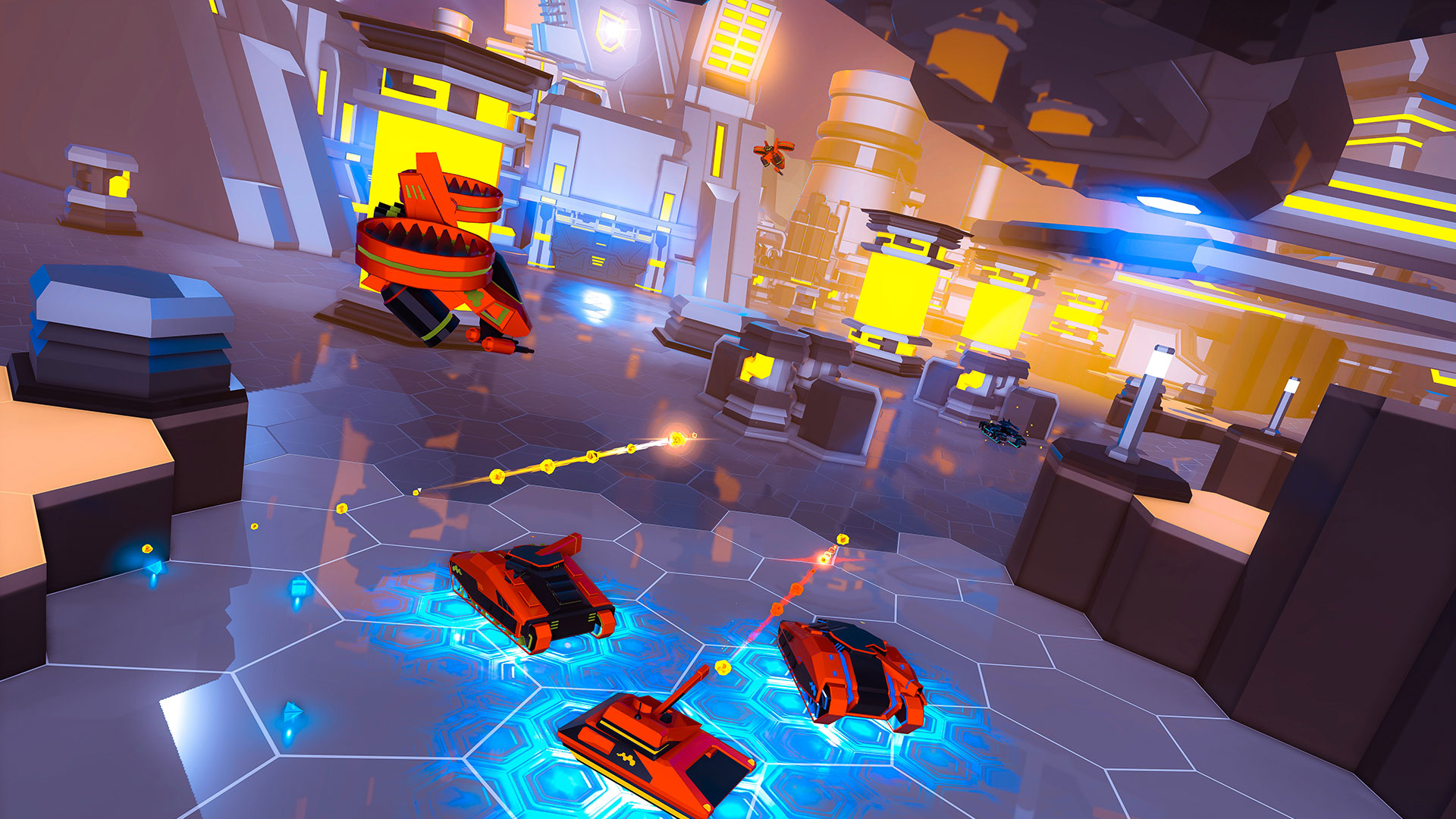 """Ein Urvater des 3D-Action-Spiels feiert dank VR seine triumphale Rückkehr: Rebellions """"Battlezone VR"""" ist rsant und unglaublich immersiv. Unbedint vormerken! (13.10. für PS4, PS VR)"""