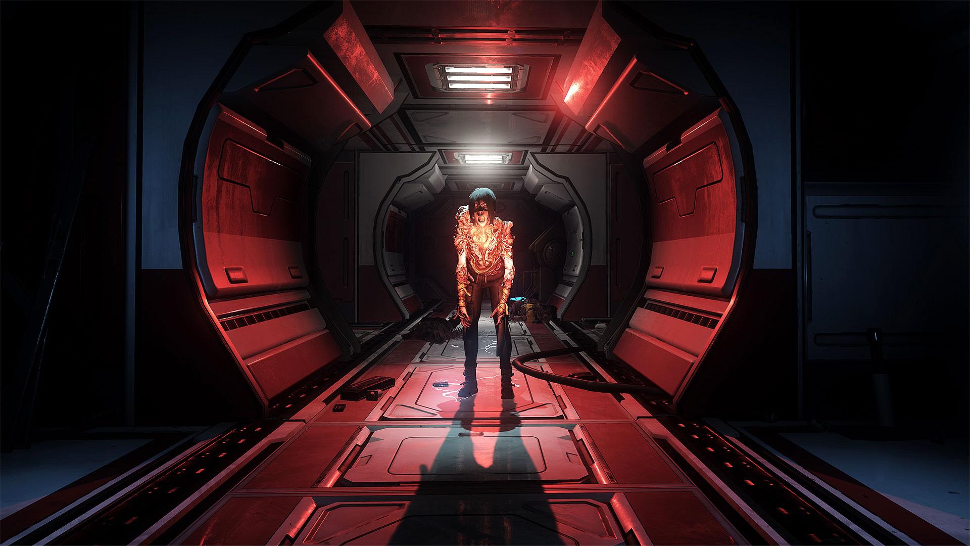 Der Marsch durch die dunklen Korridore des Raumschiffs spielt gekonnt mit Angst und Beklemmung, dem Headset-Sound mangelt es aber an Räumlichkeit.