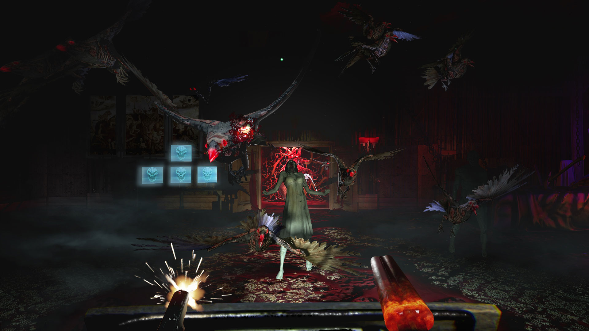 """Gamegun-Geister- und Achterbahn mit hohem Furcht-Faktor: """"Until Dawn: Rush of Blood"""" flößt uns gekonnt Angst ein und ist garantiert nichts für Infarkt-Gefährdete"""
