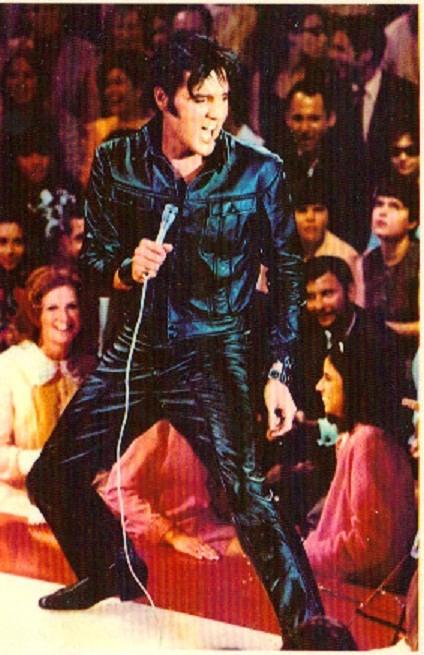 Elvis beim'69 Special