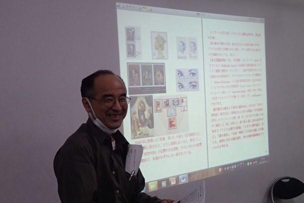 切手の図鑑、著書「マリアの図像学」の紹介 小杉健