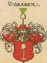 Coat of arms Von Graben, Lords Kornberg