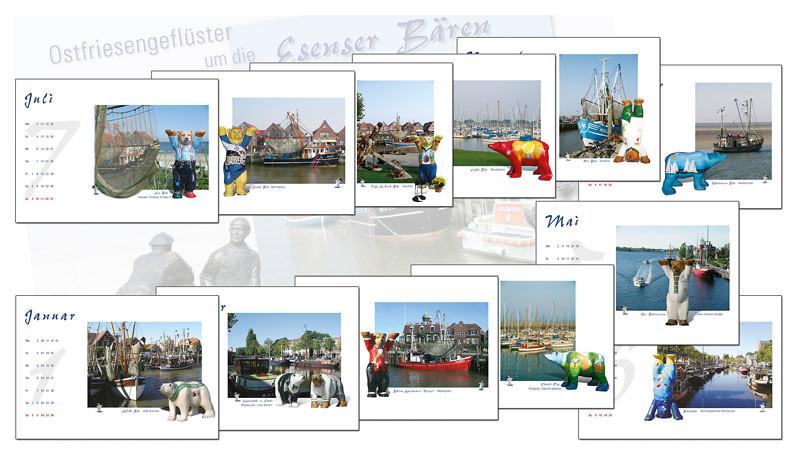 Kalender Vision & Gestaltung: Fotografie, Entwurf, Umsetzung