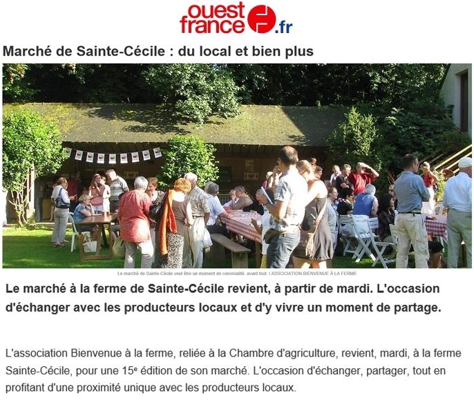 Ouest France 16 juillet 2018
