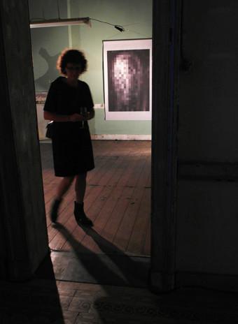 Jos Jacobs 'Empty face' / digitale prent