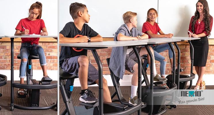 Lernen 2.0: Wie Bewegung  die Konzentration und die Lernfähigkeit fördert – auch beim Distance Learning