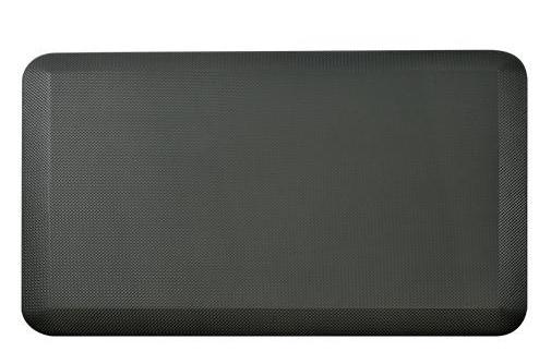 Schwarze Matte - abgebildet vor weißem Hintergrund