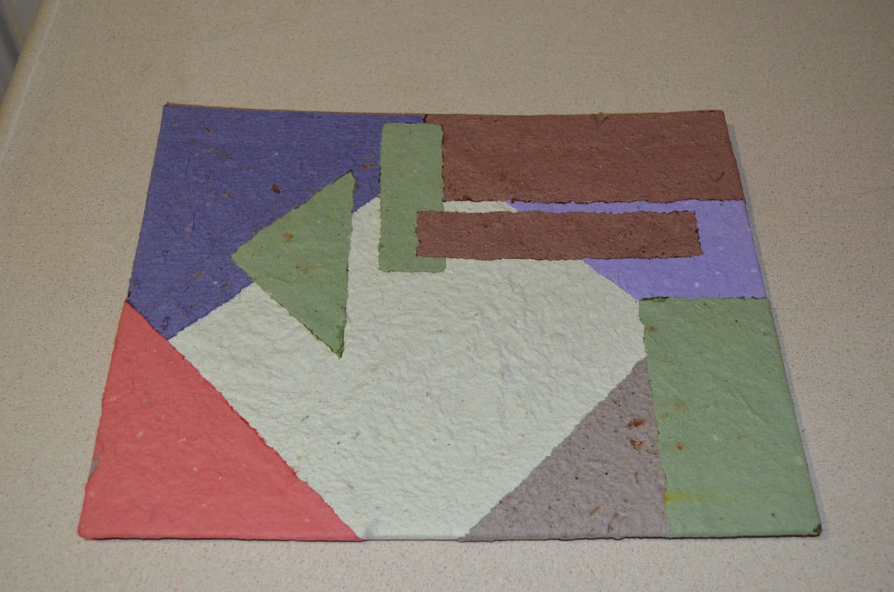 Portada con Papel Reciclado Artesanal