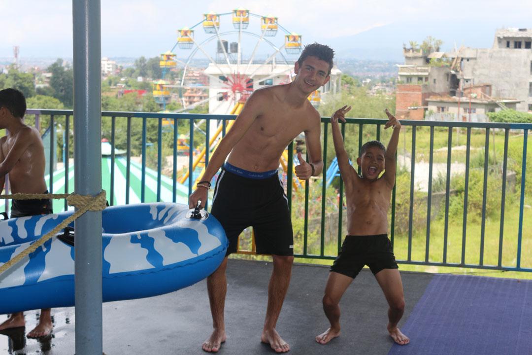 Liam und Bikash