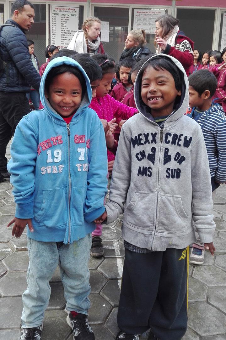Aayusha & Samjhana