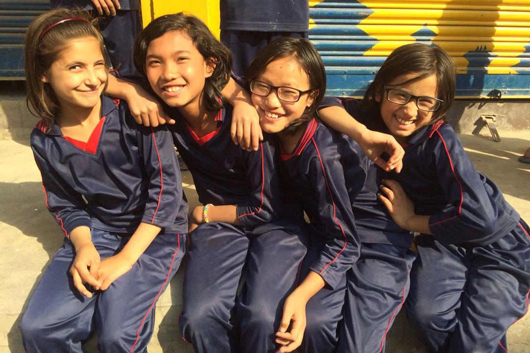 Rashila, Bhawana, Parbati und Asmita