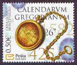 Montenegrinische Briefmarke