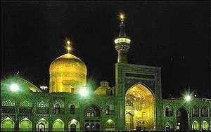 Imam Reza Moschee in Mashad