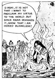 Sitas Feuerprobe