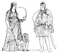 Kybele und Attis