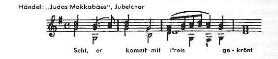 Händel - Jubelchor