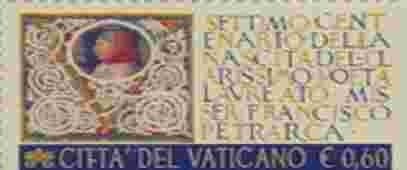 Petrarca-Briefmarke