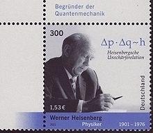 Heisenberg-Briefmarke