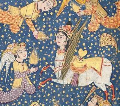 Buraq - Indische Minatur