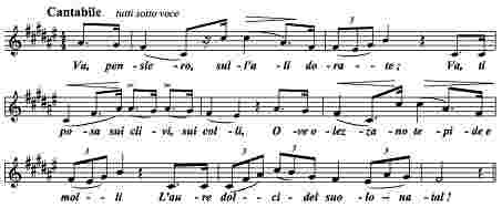"""Va pensiero"" aus ""Nabucco"""