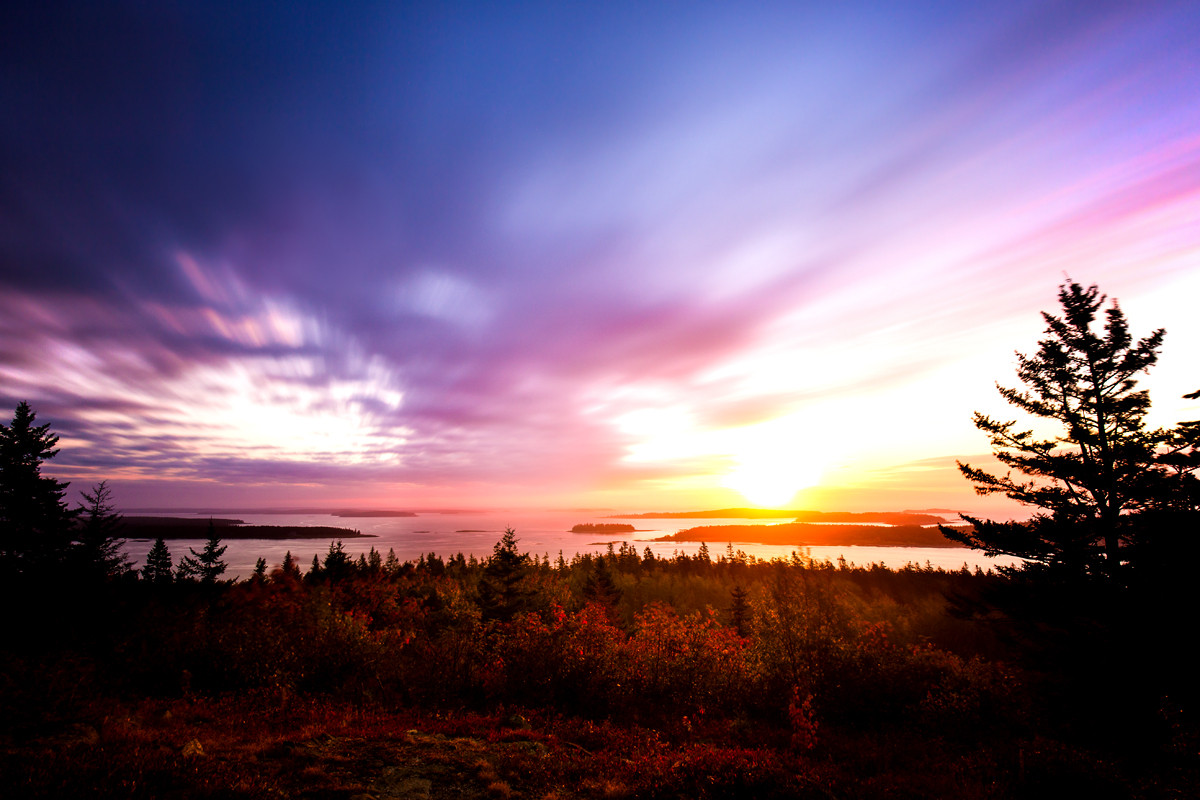 Pigeon Hill, Maine, USA