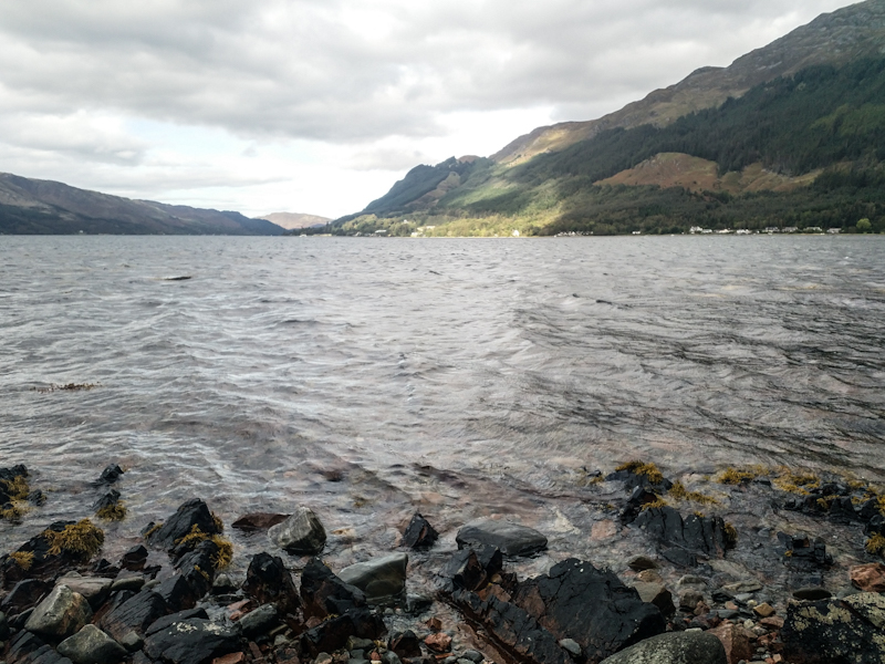 Stormy Loch Duich once more